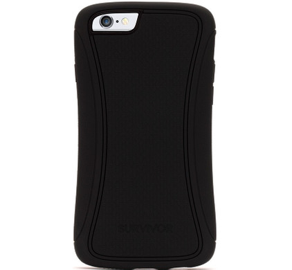 Griffin Survivor Slim Apple iPhone 6/6s Zwart