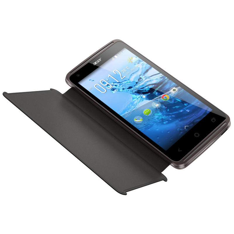 Acer Liquid Z410 Book Case Zwart