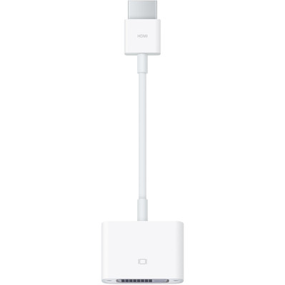 Image of Apple Adapter HDMI -> DVI-D (wit)
