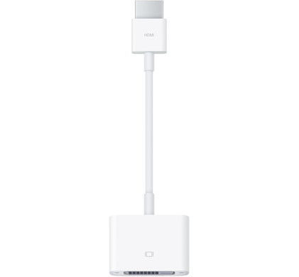 Apple HDMI naar DVI-D adapter