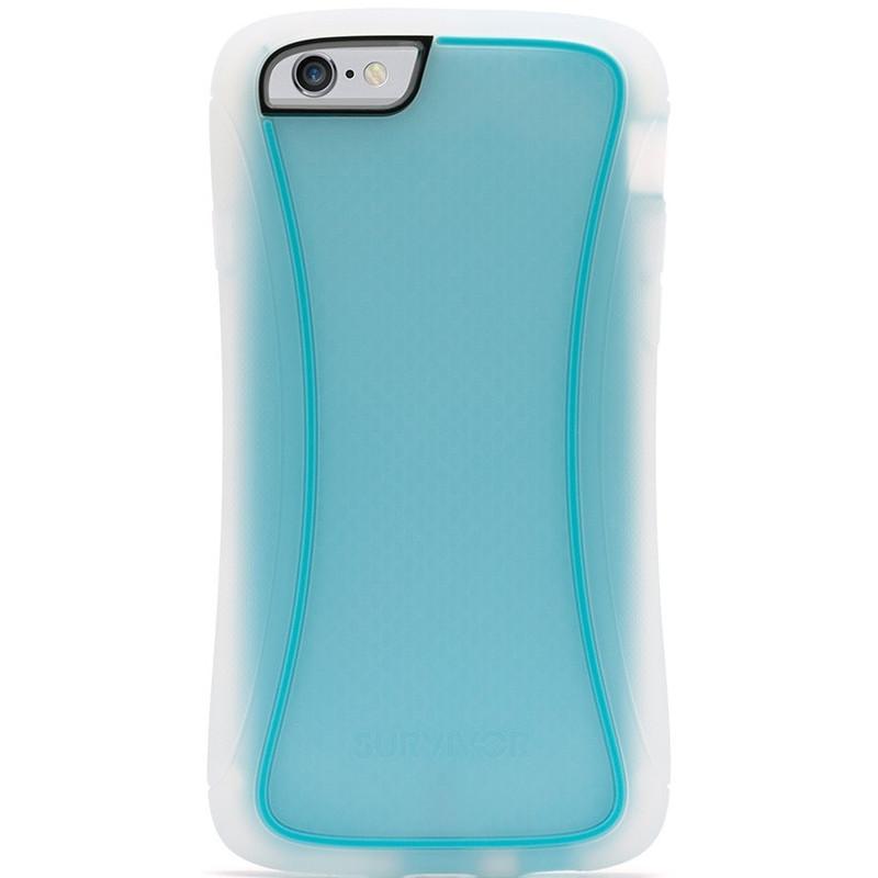 Griffin Survivor Slim Apple iPhone 6 Transparant/Blauw