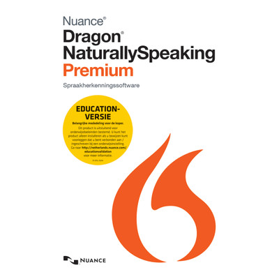Nuance Dragon NaturallySpeaking Premium 13.0 Educational