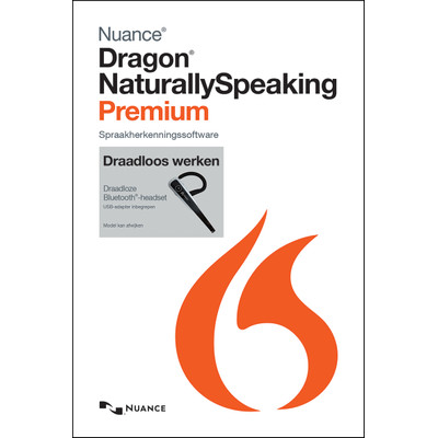 Nuance Dragon NaturallySpeaking Premium 13.0 Wireless