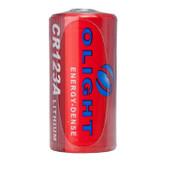 Olight CR123A Lithium battery 3V 1500mAh