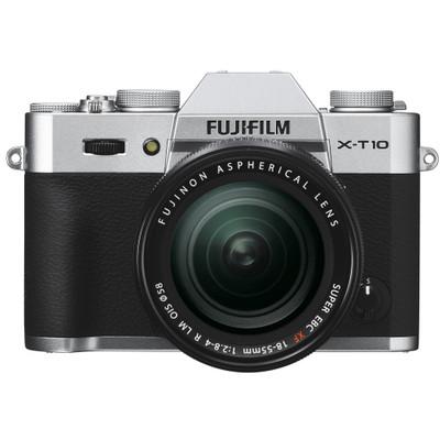 Image of Fuji X-T10 + XF 18-55mm - zilver