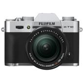 Fujifilm X-T10 + 18-55 mm zilver