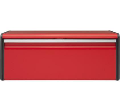 Brabantia Broodtrommel Klepdeksel Passion Red