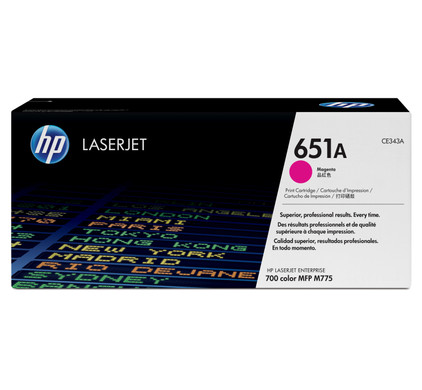 HP 651A Toner Magenta (CE343A)