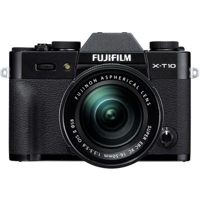Image of Fuji X-T10 + XC 16-50mm - zwart