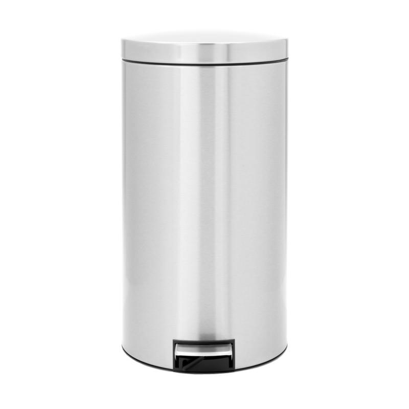 Brabantia Recycle Pedaalemmer 2x20 L Matt steel FPP
