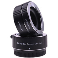Caruba Extension Tube Set Olympus Micro 4/3 Chroom