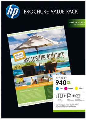 HP 940XL Officejet Brochure Value Pack (CG898AE)