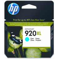 HP 920 Cyan XL Ink Cartridge CD972AE