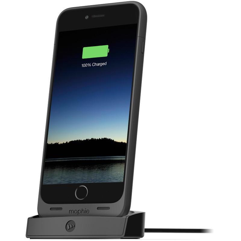 Mophie juice pack dock iPhone 6 Plus Zwart