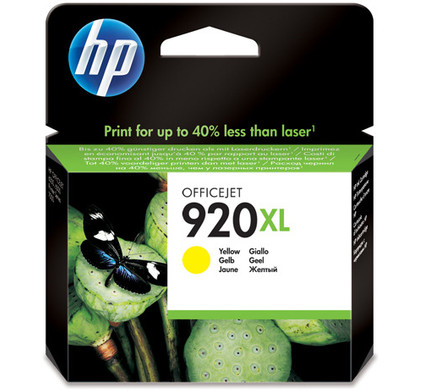 HP 920XL Cartridge Geel (CD974AE)