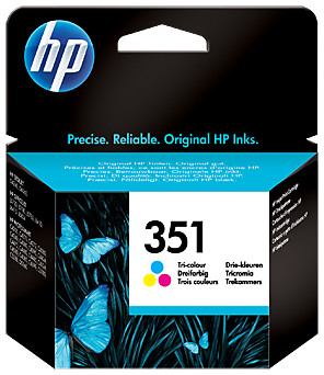 HP 351 Cartridge 3-Kleuren (CB337EE)