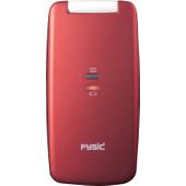 Fysic FM-9700 senioren telefoon rood
