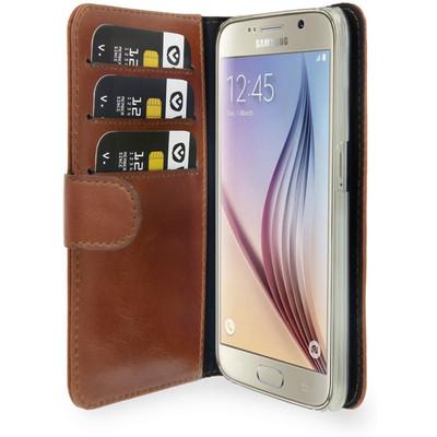 Valenta Booklet Classic Luxe Samsung Galaxy S6 Bruin
