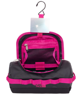 The North Face Base Camp Travel Canister Black/Pink- S