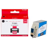 Huismerk Epson T1301XL Cartridge Zwart (Pixeljet - C13T13014010)
