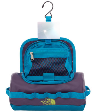 The North Face Base Camp Travel Canister Eggplant/Blue - S