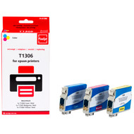 Huismerk Epson T1306XL 3-Kleuren Pack (Pixeljet - T13064010)