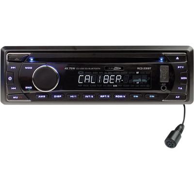 Image of Caliber Auto Radio RCD231BT 4x 75W, USB, CD, Bluetooth
