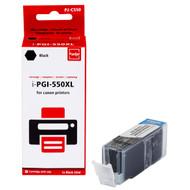 Huismerk Canon PGI-550XL Cartridge Zwart (Pixeljet - 6431B001)