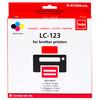 LC-123 4-Kleuren Pack (LC-123VALBP) - 2