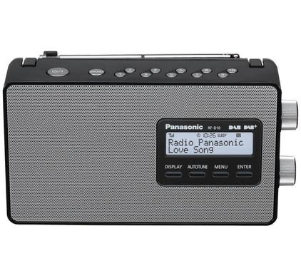 Panasonic RF-D10 Zwart