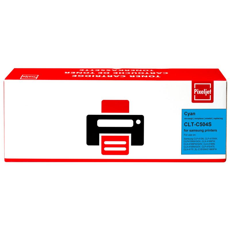 Pixeljet Clt-c504s Toner Cyaan (voor Samsung)