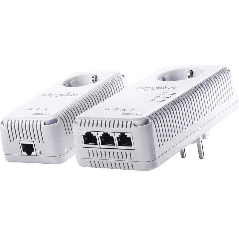 Powerline homeplug dLAN 500 AV Wireless+ starterkit met wifi