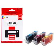 Huismerk Canon CLI-526CMY 3-Kleuren Pack (Pixeljet - 4541B009)