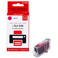 Huismerk Canon CLI-526M Cartridge Magenta (Pixeljet - 4542B001)