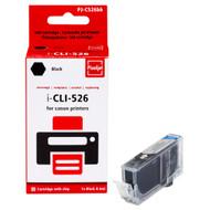 Huismerk Canon CLI-526BK Cartridge Fotozwart (Pixeljet - 4540B006)
