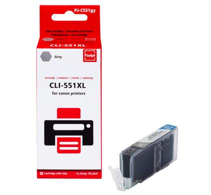 Huismerk Canon CLI-551XL Cartridge Grijs (Pixeljet - 6447B001)