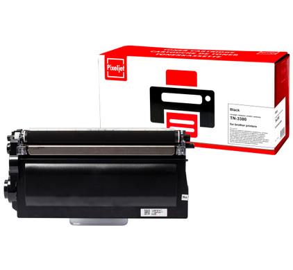 Huismerk Brother TN-3380 Toner Zwart XL (Pixeljet - TN-3380)