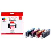 Huismerk Canon CLI-551XL 4-Kleuren Pack (Pixeljet - 6509B009)