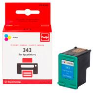 Huismerk HP 343 Cartridge 3-Kleuren (Pixeljet - C8766EE)
