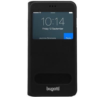 Bugatti BookCover Lausanne iPhone 6 Plus Zwart