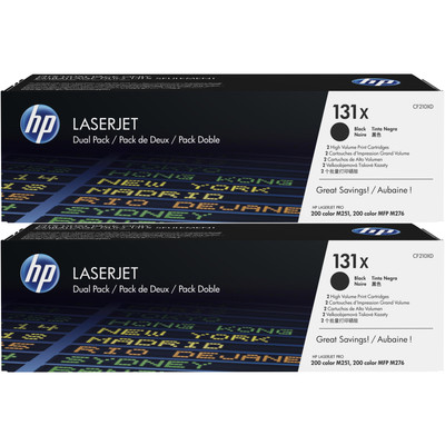 HP 131XD Toner Zwart Dual Pack (CF210XD)