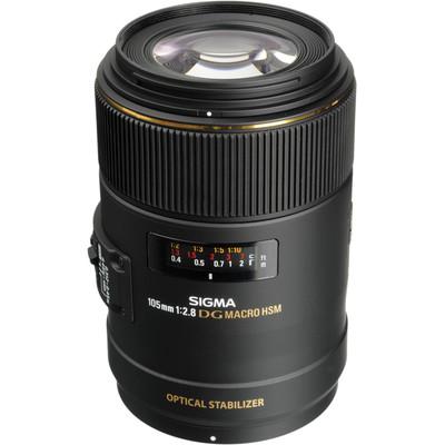 Sigma 105mm f/2.8 EX DG Macro OS HSM Nikon