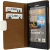 Wallet Book Huawei Ascend G6 4G Wit - 1