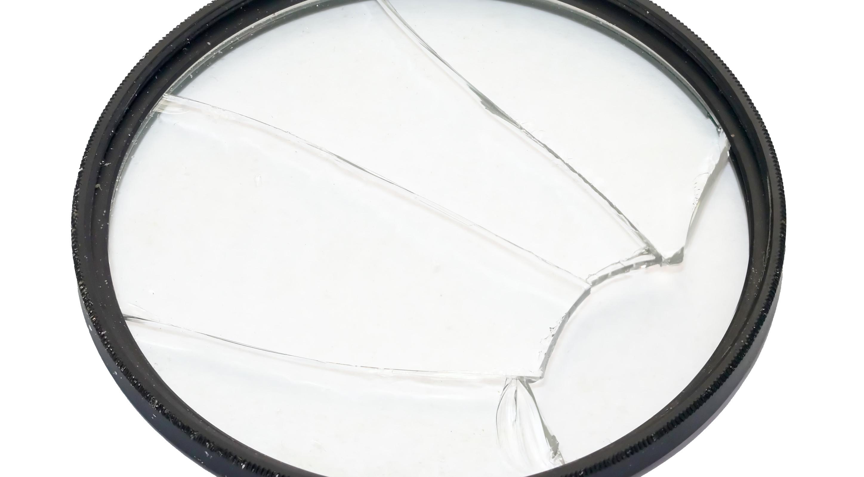 Lensfilter kapot
