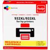 932/933 Cartridge 4-Kleuren XL (C2P42AE) - 2