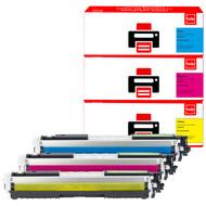 Huismerk HP 126A Toner 3-Kleuren (Pixeljet - CF341A)