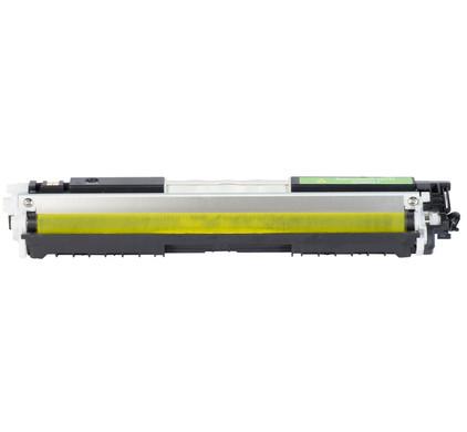 Huismerk 126A Toner Geel voor HP printers (CE312A)