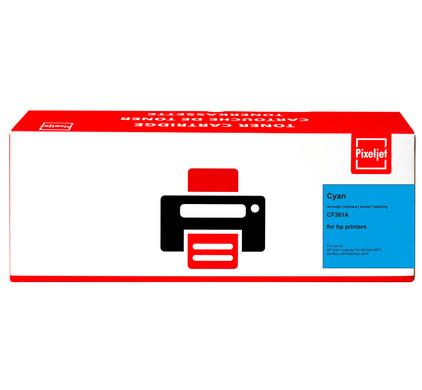 Pixeljet 312A Toner Cyaan (CF381A)