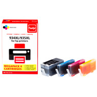 Huismerk HP 934/935 Cartridge 4-Kleuren XL