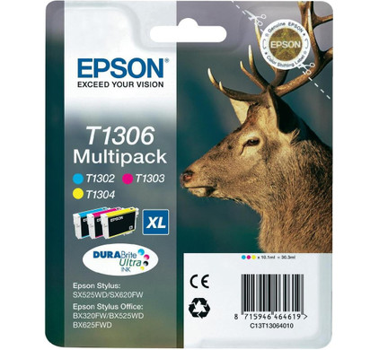 Epson T1306 XL 3 Color Multipack (C13T130640)
